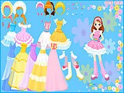 Flower Gown Dressup thumbnail