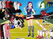 Thumbnail of Sports Girl Dressup