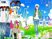 Thumbnail of Spring Doll Dress Up