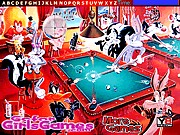 Bunny Lola Daffy Snooker Pool Hidden Letters thumbnail