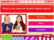 Thumbnail of Ariana Grande Quiz