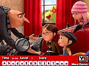 Thumbnail of Despicable Me 2 Hidden Letters
