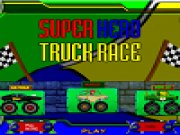 Thumbnail of Super Hero Truck Race