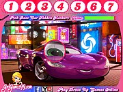 Thumbnail of Pink Race Car Hidden Numbers