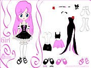 Thumbnail of Kiss Doll Dress Up