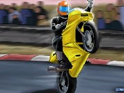 Thumbnail of Drag Race Biker