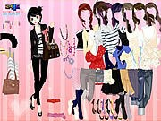 Thumbnail of Pink Chique Dress Up
