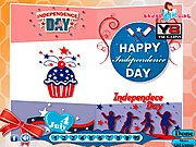 Thumbnail of Independence Day Card Decoration