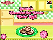 Barbie's Chocolate Ice Cream Cake Roll thumbnail