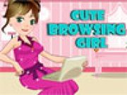 Cute Browsing girl thumbnail