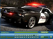 Thumbnail of Police Cars Hidden Letters