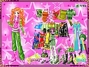 Thumbnail of Ginger Star Dressup
