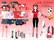 Thumbnail of Sport Fan Dress Up