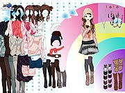 Thumbnail of Rainbow Dressup 3