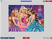 Thumbnail of Barbie Jigsaw Game