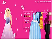 Tinkerbell Barbie Dress Up thumbnail