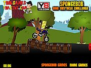 Thumbnail of Spongebob Bike Obstacle Challenge