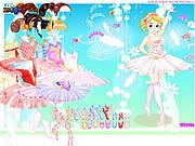 Thumbnail of Ballerina Dress up 2
