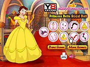 Thumbnail of Princess Belle Royal Ball Dress Up