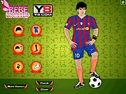 Thumbnail of Lionel Messi Dressup