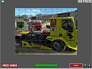 Thumbnail of Racing Trucks Puzzle