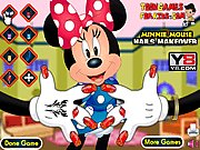 Thumbnail of Minnie Mouse Nails Makeover