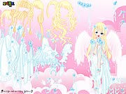 Thumbnail of White Angel Dress Up