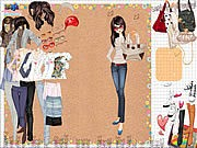 Thumbnail of Shopping Girl 3 Dress Up