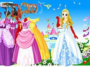 Thumbnail of Wonderland Gown Dressup