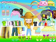 Thumbnail of Cutie Doll Dress Up