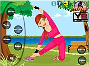 Thumbnail of Fitness Girl Dress Up game