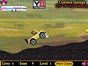 Curious George Car Driving Challenge Game thumbnail