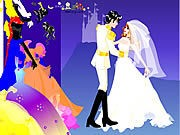 Thumbnail of Colorful Wedding Dressup