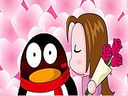 Thumbnail of QQ Penguin: Rose