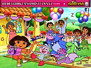 Thumbnail of Dora Hidden Alphabets