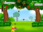 Thumbnail of Winnie The Pooh Apples Catching