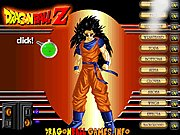 Dragon Ball Z Goku Dressup thumbnail