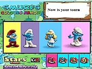 Thumbnail of Smurfs Colours Memory
