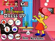 Thumbnail of Lisa Simpson Dressup