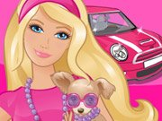 Thumbnail of Barbie Driving Slacking