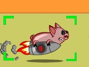 Thumbnail of Swine Rocket Race