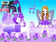 Purple Butterfly Dress up thumbnail