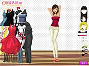 Charming Girl Dressup thumbnail