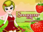 Thumbnail of Strawberry Girl Dress Up