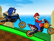 Mario Vs Sonic Racing thumbnail