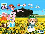 Puppy in the Field Dressup thumbnail