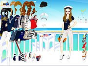 Thumbnail of Navy Girl Dress Up