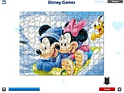 Thumbnail of Mickey and Minnie Mouse Puzzle