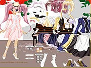 Thumbnail of Lady Anime Dress Up