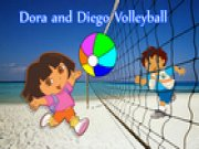 Thumbnail of Dora and Diego Volleyball